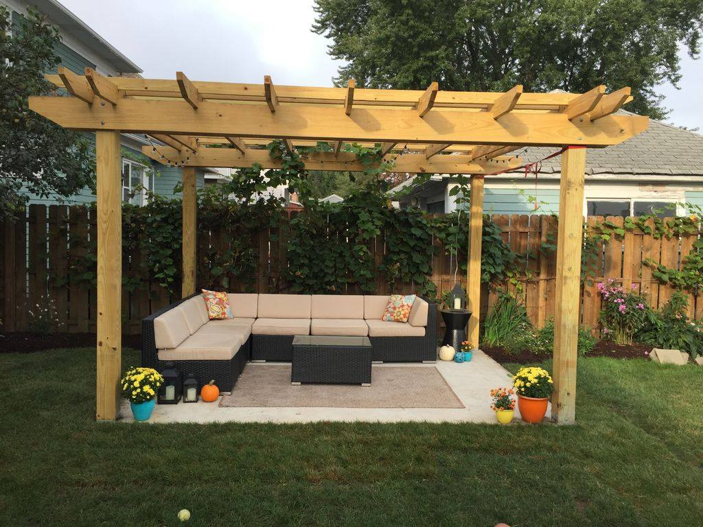 19 Designs Of Wooden Pergolas That Will Inspire You To Put